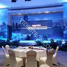 Media Display Indoor Launching Prodak aggreko