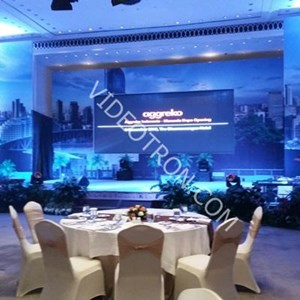 Media Display Indoor Launching Prodak aggreko