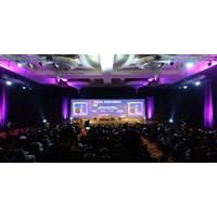 Jual Sewa Videotron LED Display  IT INFRASTRUCTURE SUMMIT @ Hotel Ritz Carlton SCBD Sudirman 13 Maret 2019 P3 4x16 2