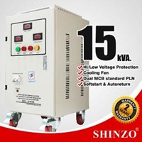 Stabilizer Shinzo Type : Svc - 1 Phase 15 Kva