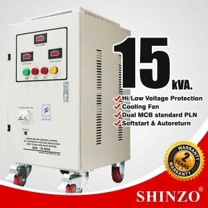 Stabilizer Shinzo Type : Svc - 1 Phase 15 Kva
