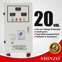 Stabilizer Shinzo Type : Svc - 1 Phase 20 Kva