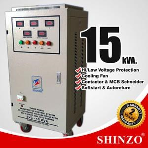Stabilizer Shinzo Type : Svc - 3 Phase 15 Kva