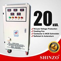 Stabilizer Shinzo Type : Svc - 3 Phase 20 Kva