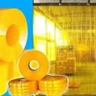 Tirai Pvc Kuning (Anti Sisipan) 1