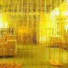 Tirai Pvc Ribbed Yellow ( Tulang ) 1
