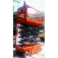 electric scissor lift termurah 1