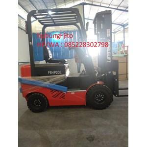 Forklift Listrik  atau batrey