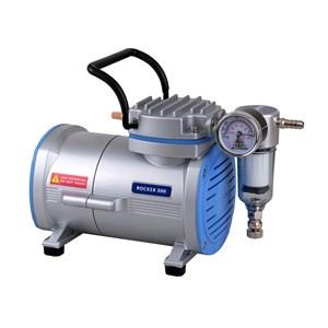 Alat Laboratorium Umum Vacuum Pump Laboratorium Rocker 300 Oilless Pompa Elektrik Lab