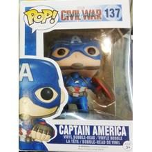 Mainan captain america action figure Minifigure