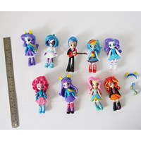 Jual Mainan my little pony girl 9pc per set action figure Minifigure 2