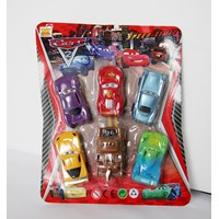 toy cars contents 6pc
