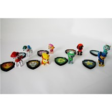 Mainan paw patrol 1 set (8pc) Minifigure
