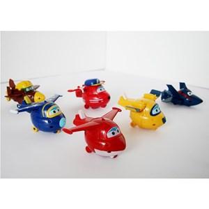 Mainan Super Wings 1 set 6pc Minifigure