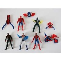 Mainan spiderman venom 1 set (6pc) Minifigure 1