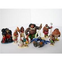 Mainan Moana 1 set (10pc) Minifigure