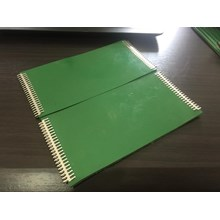 PVC Green Buttom Fabric