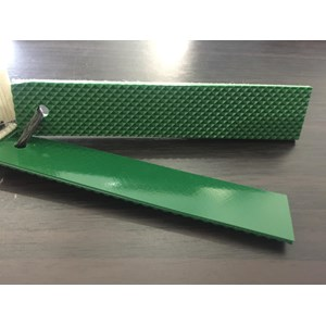 PVC Green Buttom Diamond