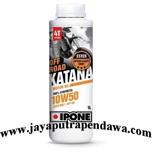 Oli Motor Ipone Katana Off Road 10W50