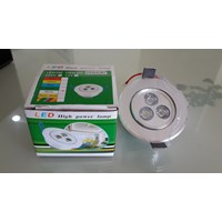 Lampu Downlight 3 Mata