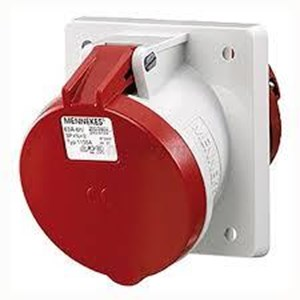 Connector Panel mounted receptacles MENNEKES CEE 16A and 32A IP 44