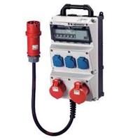 Jual Steker Listrik Kombinasi wadah AMAXX MENNEKES pra kabel untuk instalasi IP44 kabel