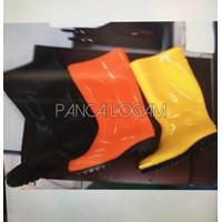 Jual Sepatu Boots Karet  Lentur