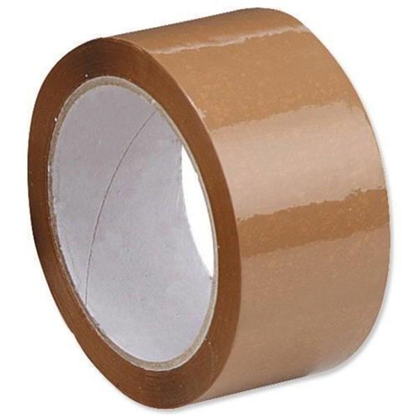 Tape Adhesive Lakban Coklat