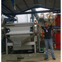 Sludge Treatment Plant Belt Press Machine