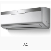 AC Split Wall