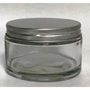 Toples 250 ml Round Glass Jar with Alu lid P037