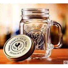 Gelas 450 ml Mason Jar P023