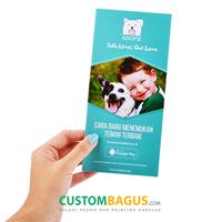 Jual Cetak Brosur Custom 2