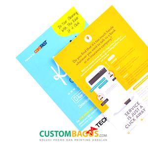 Cetak Brosur Custom