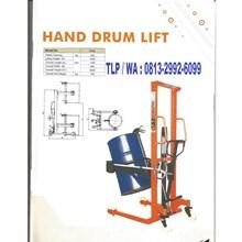 Hand Stacker Drum Lift Dalton Bergaransi Resmi