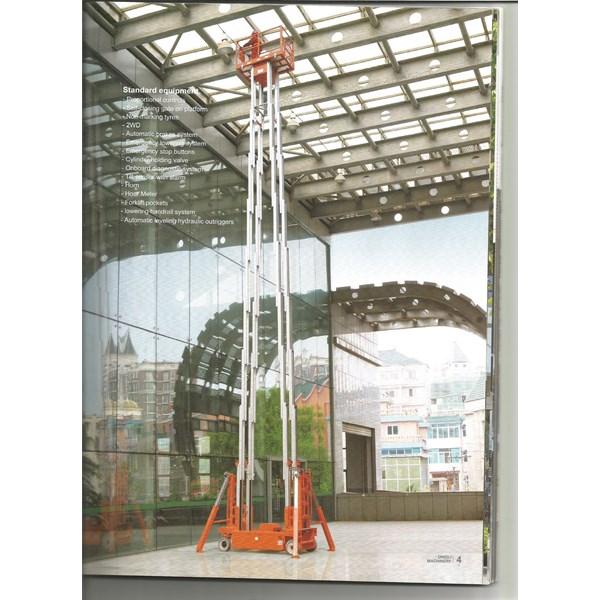 Tangga Aluminium Work Platform Harga Murah Garansi 3 Tahun