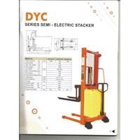 Beli Semi Electric Hand Stacker Dalton DYC Bergaransi REsmi 4