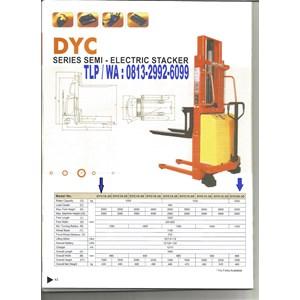 Dalton Semi Electric Stacker 2 Ton