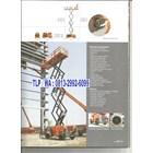 Distributor Scissor Lift Work Platform 2