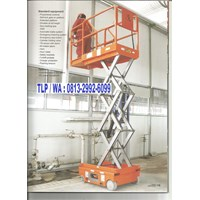 Distributor Scissor Lift Work Platform
