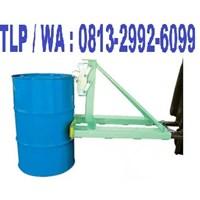 HARGA PROMO Drum Gripper Attacment Forklift Harga Murah