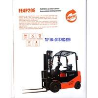 Forklift Listrik atau Forklift Battery Nobelift 2 Ton  Bergaransi 3 Tahun