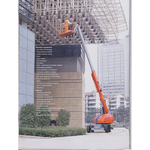 Boom Lift Type Telescopic 18 Meter