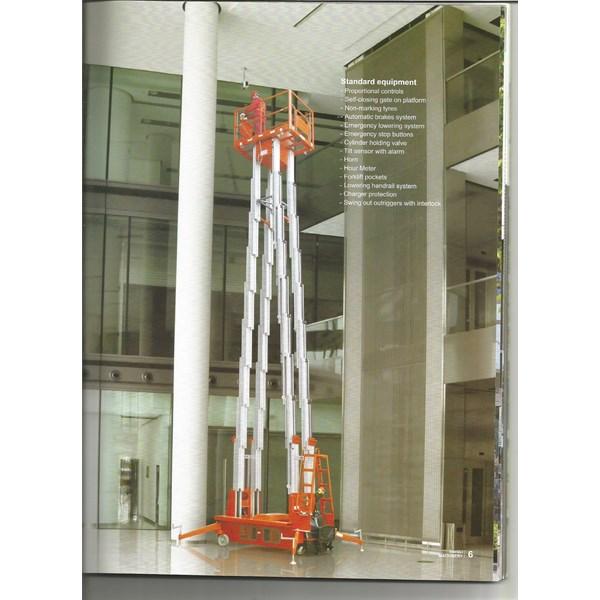 Tangga Hydroulic Aluminium  Nobelift Type SC Bergaransi 3 Tahun