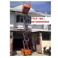 Scissor Lift Ketinggian 12 Meter