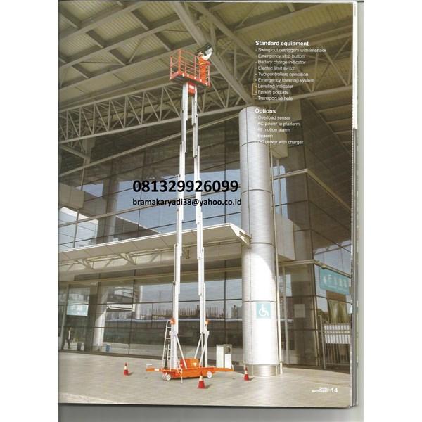 HOT PROMO Jual Tangga Aluminium  Single Mesh Harga Istimewa 081329926099