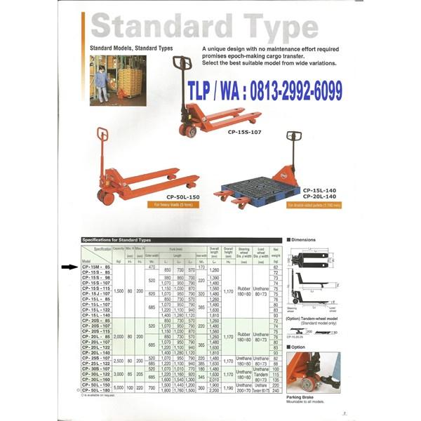 Hand Lift OPK Atau Hand Pallet OPK JAPAN