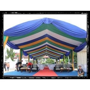 Plafon Dekor Tenda Pesta