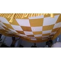 Plafon Dekorasi Tenda Pesta Model Catur 1