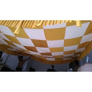 Plafon Dekorasi Tenda Pesta Model Catur